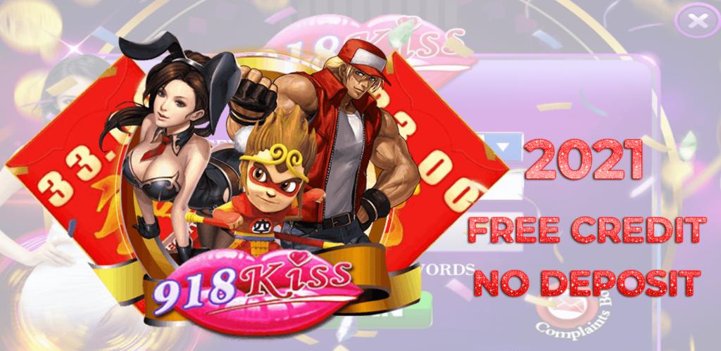 918kiss-free-credit-no-deposit